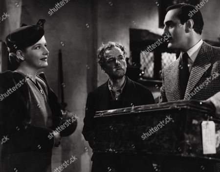 Ann Harding, Donald Calthrop, Basil Rathbone