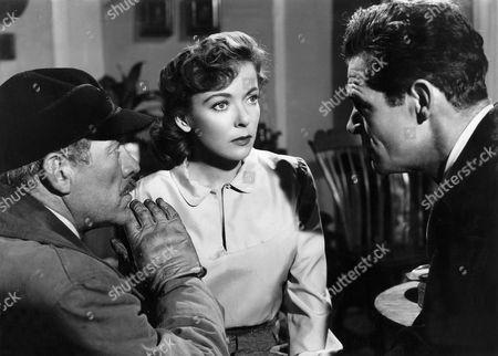 Ward Bond, Ida Lupino, Robert Ryan