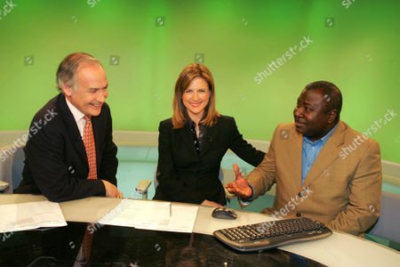 Editorial image of GUY GOMA, WHO WAS MISTAKENLY INTERVIEWED ON THE BBC 24 HOUR NEWS NETWORK - MAY 2006