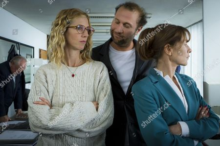 Sandrine Kiberlain, François Damiens, Isabelle Huppert