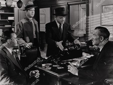 Barton Maclane, James Cagney, Ward Bond