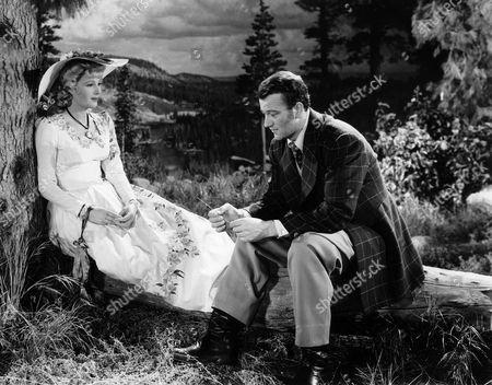 Binnie Barnes, John Wayne
