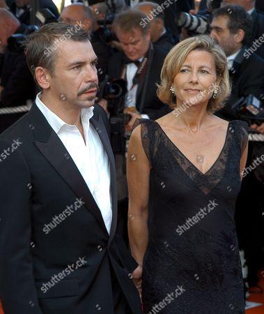 Philippe Torreton and Claire Chazal