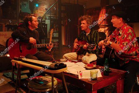 Stock Picture of Matthew Broderick, Dan Zanes, James Burton