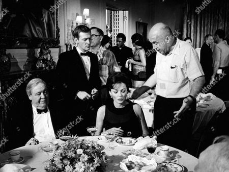 Charles Laughton, George Grizzard, Gene Tierney, Otto Preminger