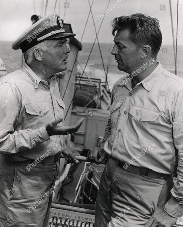 Stock Image of Frank Albertson, Robert Mitchum