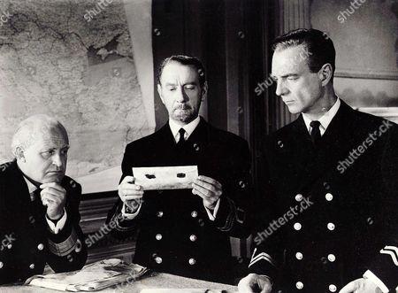Laurence Naismith, Clifton Webb, Robert Flemying
