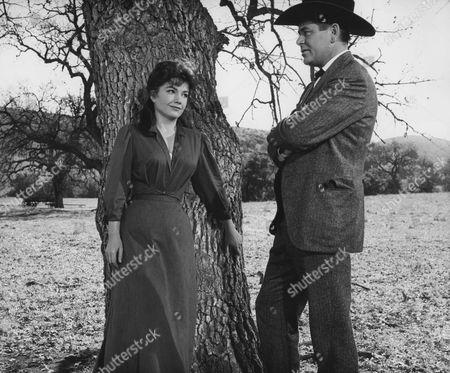 Anne Baxter, Glenn Ford