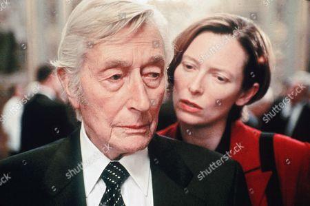Stock Photo of John Neville, Tilda Swinton