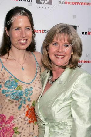 Kristin Gore and Tipper Gore