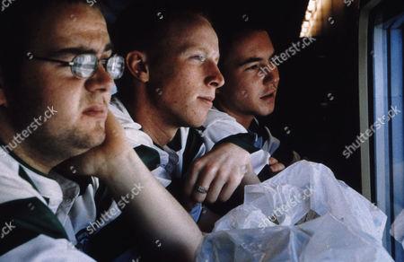Gary Maitland, William Ruane, Martin Compston