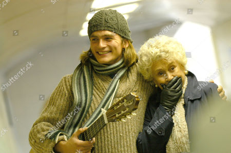 Stock Picture of Rupert Friend, Joan Plowright