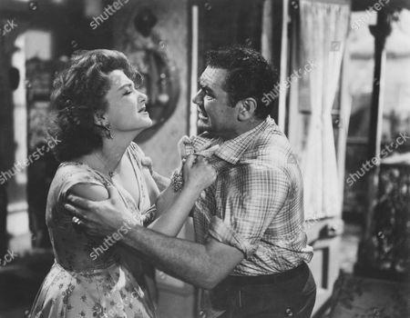 Anne Baxter, Ernest Borgnine