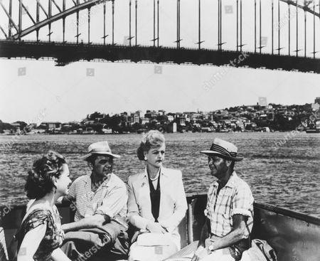 Anne Baxter, Ernest Borgnine, Angela Lansbury, (Sir) John Mills
