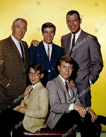 Fred Macmurray, Stanley Livingston, Don Grady, Barry Livingston, William Demarest