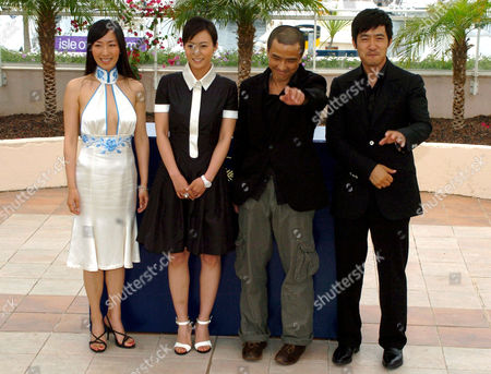 'Summer Palace' film photocall - Hu Ling Ling and Hao Lei, Guo Xiaodong and the director Lou Ye