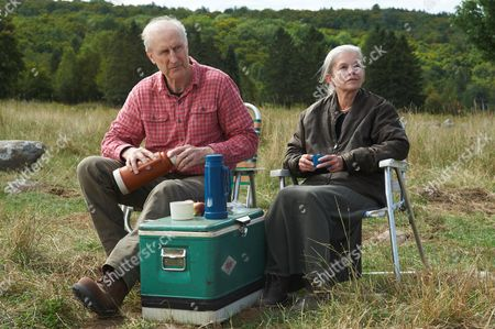 Stock Image of James Cromwell, Genevieve Bujold