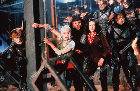 Lori Petty, Naomi Watts, Scott Coffey, Ice-T