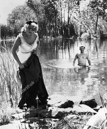 Barbara Nichols, Clark Gable