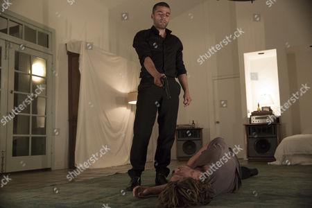 Stock Photo of Oscar Isaac, Garrett Hedlund