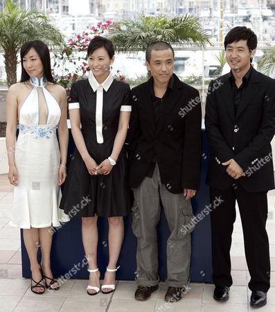 'Summer Palace' film photocall - Hu Ling, Lei Hao, Guo Xiaodong and the director Lou Ye