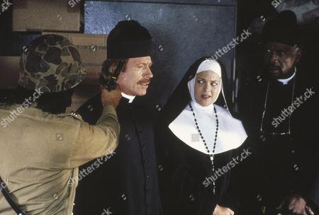 Chuck Norris, Melody Anderson, Louis Gossett Jr