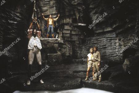 Louis Gossett Jr, Melody Anderson, Chuck Norris