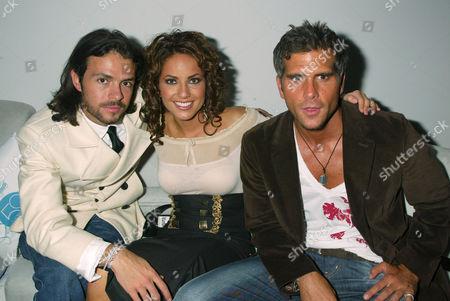 Jose Maria Torre, Barbara Mori and Christian Meier