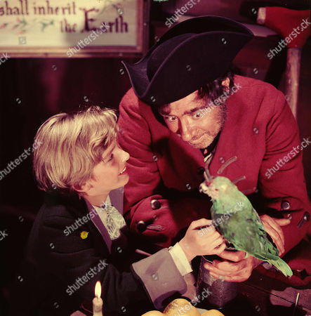Stock Picture of Bobby Driscoll, Robert Newton