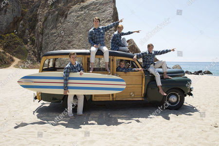 Kenny Wormald, Paul Dano, Jake Abel, Graham Rogers, Brett Davern