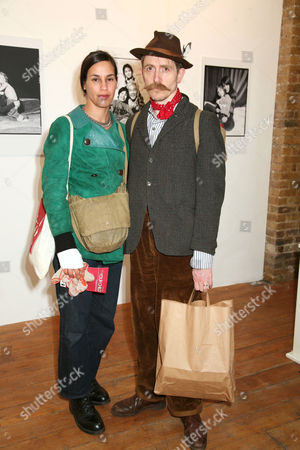 Billy Childish and wife Julie.