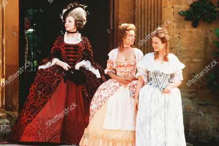 Joan Collins, Emma Chambers, Natasha Little