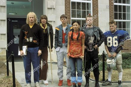 Derek Richardson, Josh Braaton, Eric Christian Olsen, Michelle Krusiec, Elden Henson, William Lee Scott