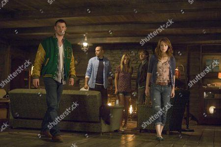 Chris Hemsworth, Jesse Williams, Anna Hutchison, Fran Kranz, Kristen Connolly