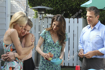 Stock Picture of Tricia O'Kelley, Ayla Kell, Marin Hinkle, Alex Carter
