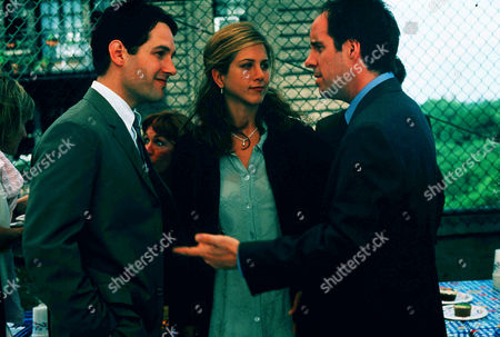Paul Rudd, Jennifer Aniston, John Pankow