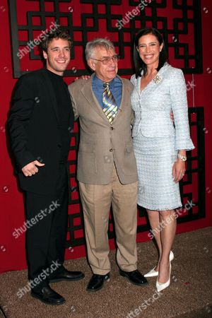 Bret Harrison, Philip Baker Hall and Mimi Rogers
