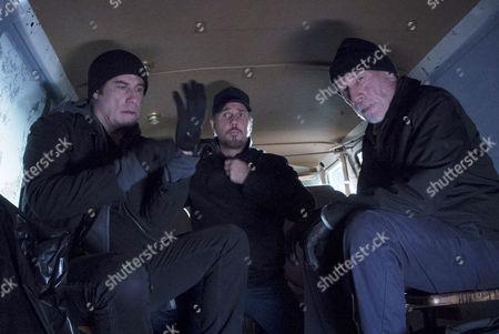 John Travolta, Travis Aaron Wade, Christopher Plummer