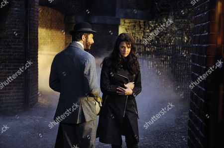 Stock Picture of Peter Wingfield, Amanda Tapping