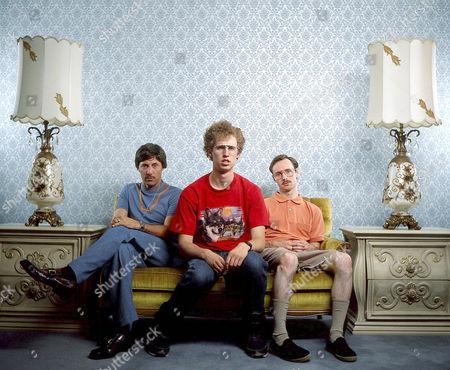 Jon Gries, Jon Heder, Aaron Ruell
