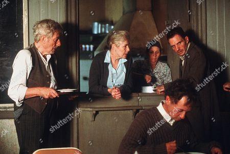 Stock Image of John Neville, Lynn Redgrave, Ralph Fiennes