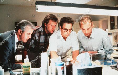 Stock Image of Jeff Daniels, Brian McNamara, Julian Sands