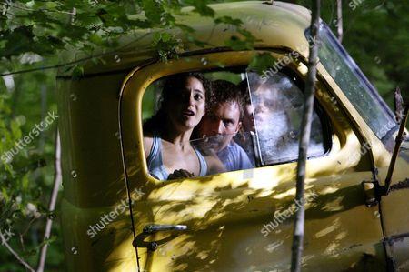 Stock Image of Emmanuelle Chriqui, Desmond Harrington, Eliza Dushku