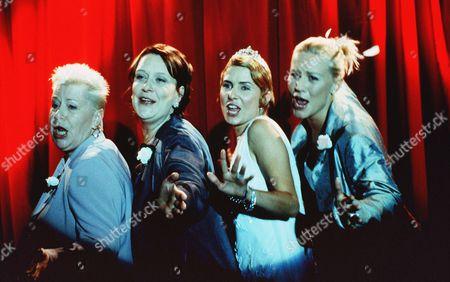 Kathy Burke, Sadie Frost, Denise Van Outen