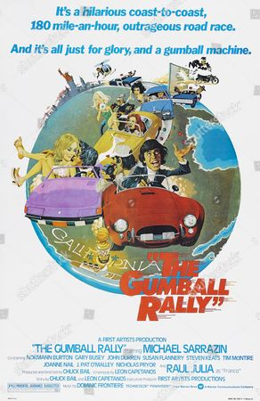 Editorial image of The Gumball Rally - 1976