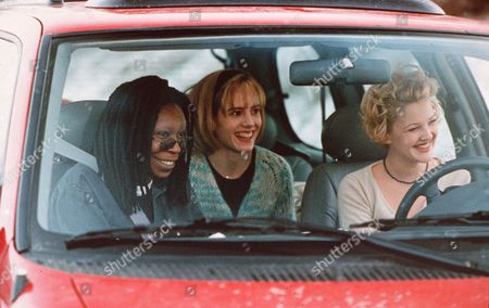 Stock Picture of Whoopi Goldberg, Mary-Louise Parker, Drew Barrymore