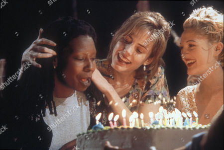 Stock Image of Whoopi Goldberg, Mary-Louise Parker, Drew Barrymore