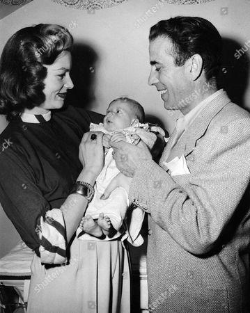Lauren Bacall, Stephen Bogart, Humphrey Bogart