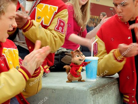 Editorial picture of Alvin and The Chipmunks - The Squeakquel - 2009