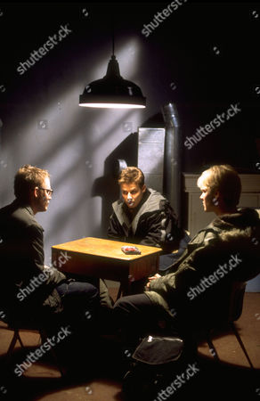 Stock Image of Kevin Christy, Will Estes, Blake Shields